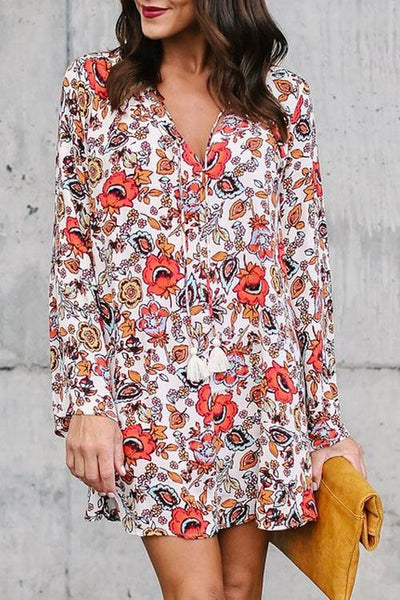 Groove Thing Floral Dress