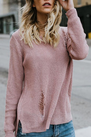 Carmen Distressed Sweater