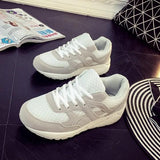 New Grey Round Toe Flat Cross Strap Casual Ankle Shoes