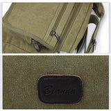 Canvas Casual Shoulder Bag Crossbody Bags Outdoor Shopping Sport Bag For Men Women