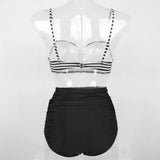 Retro Beauty High Waist Bikini