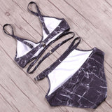 Starlight High Waist Cut Out Bikini Set