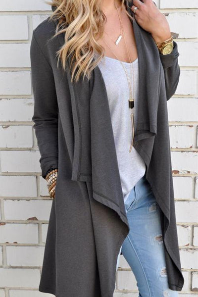 Cotton Grey Clarity Sweaters & Cardigans