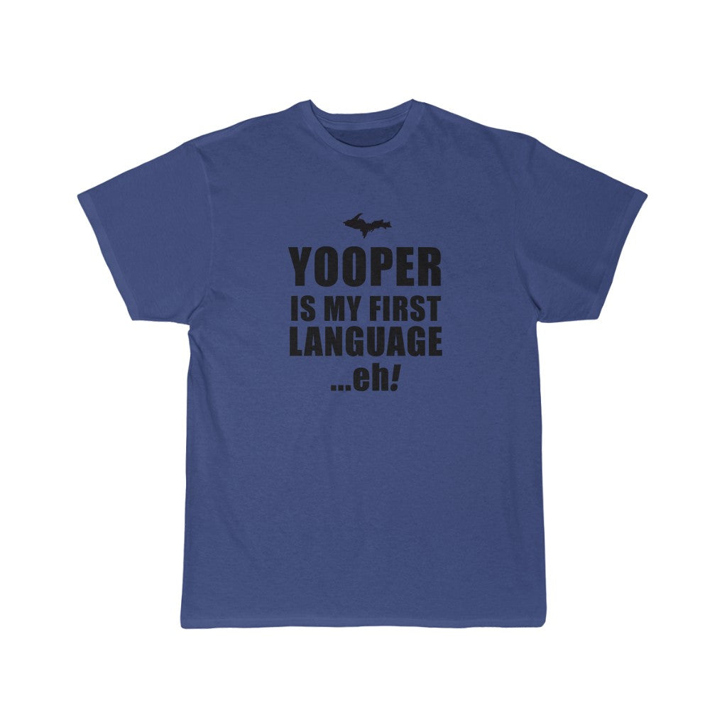 Yooper Language Regular Men's Short Sleeve Tee