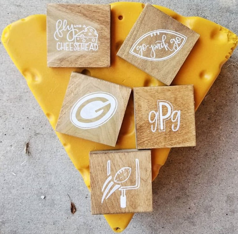 Green Bay Packer Coasters