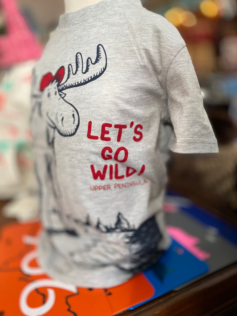 Let's Go Wild Toddler Tee Moose