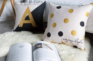 Glam Pillowcase Slipcovers Several Patterns - AtHomeWithZane