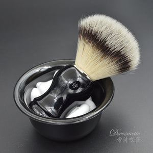 Distinguished Hand-Crafted Shaving Brush - AtHomeWithZane