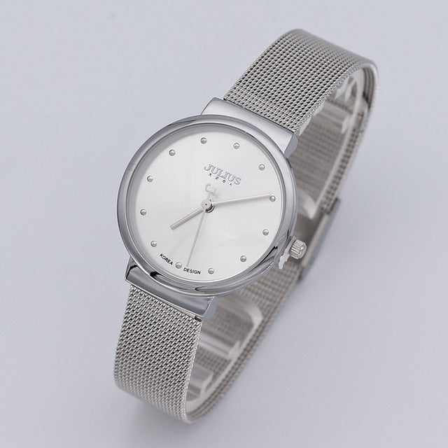 Beautiful Woman's Stainless Steel Watch - AtHomeWithZane