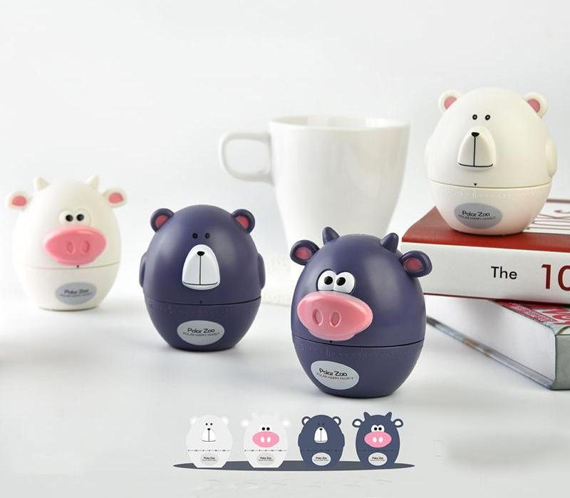 Charming Animal Mechanical Kitchen Timers - Several options - AtHomeWithZane