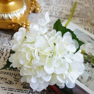 Beautiful Faux Hydrangea Stems - Several Colors to Choose From - AtHomeWithZane