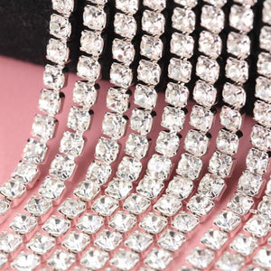 Clear Rhinestones Perfect for DIY Projects - AtHomeWithZane