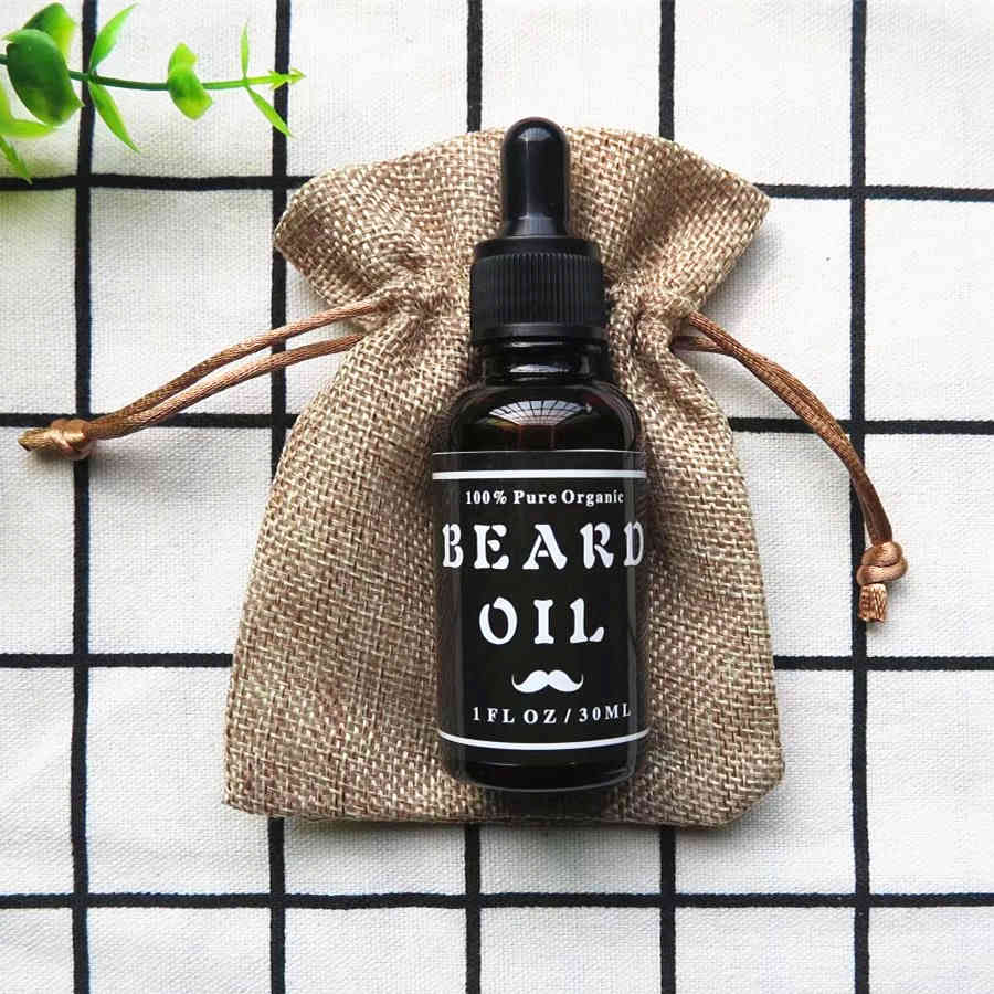 Men's Beard Oil, 100% Pure Blend of Natural Ingredients - AtHomeWithZane