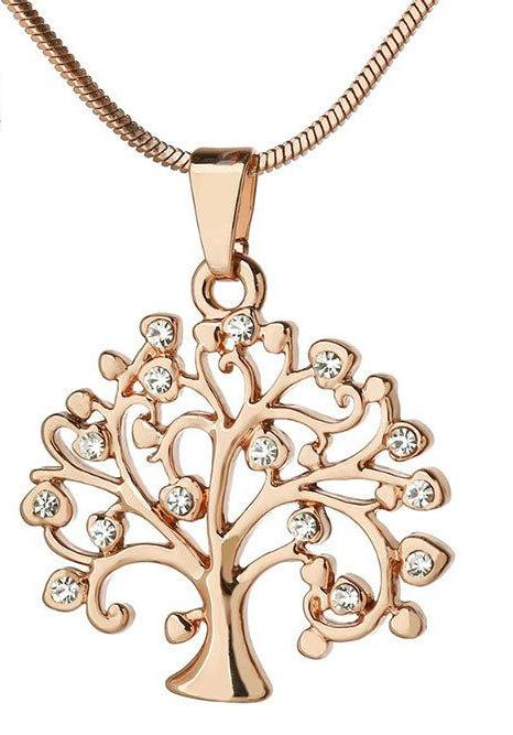 The Tree Of Life Pendant Necklace - AtHomeWithZane