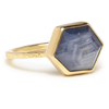 14K STAR SAPPHIRE RING - Emily Amey Handmade one of a kind jewelry Hudson Valley New York.