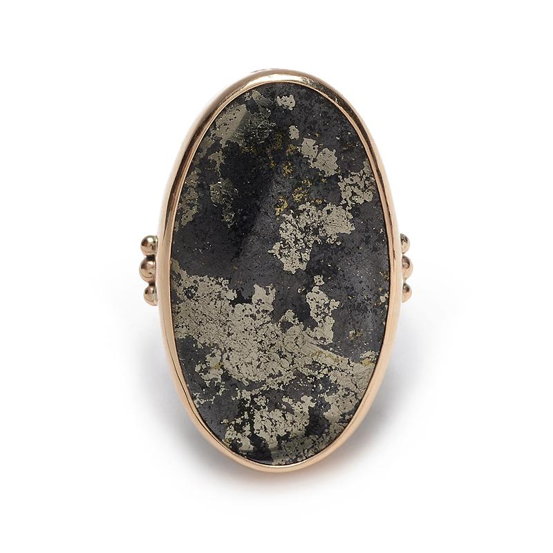 MAGNETIC PYRITE RING