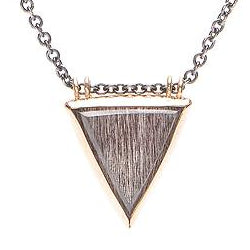 14K SS SUPER SEVEN TRIANGLE NECKLACE