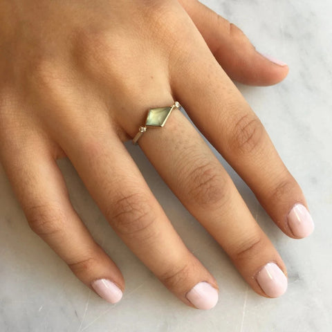 PREHNITE KITE RING