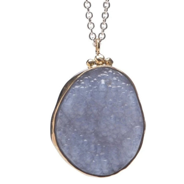 BOTRYOIDAL CHALCEDONY - Emily Amey Handmade one of a kind jewelry Hudson Valley New York.