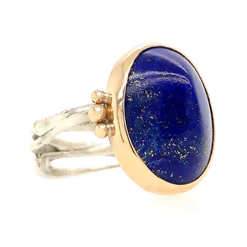 LAPIS SUGARLOAF RING