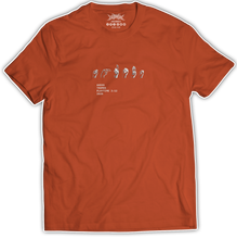 "Load image into Gallery viewer, Akeos ""Thumbs"" Orange T-Shirt [LIMITED EDITION]"