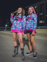 Load image into Gallery viewer, Cotton Candy Camo Hoodie