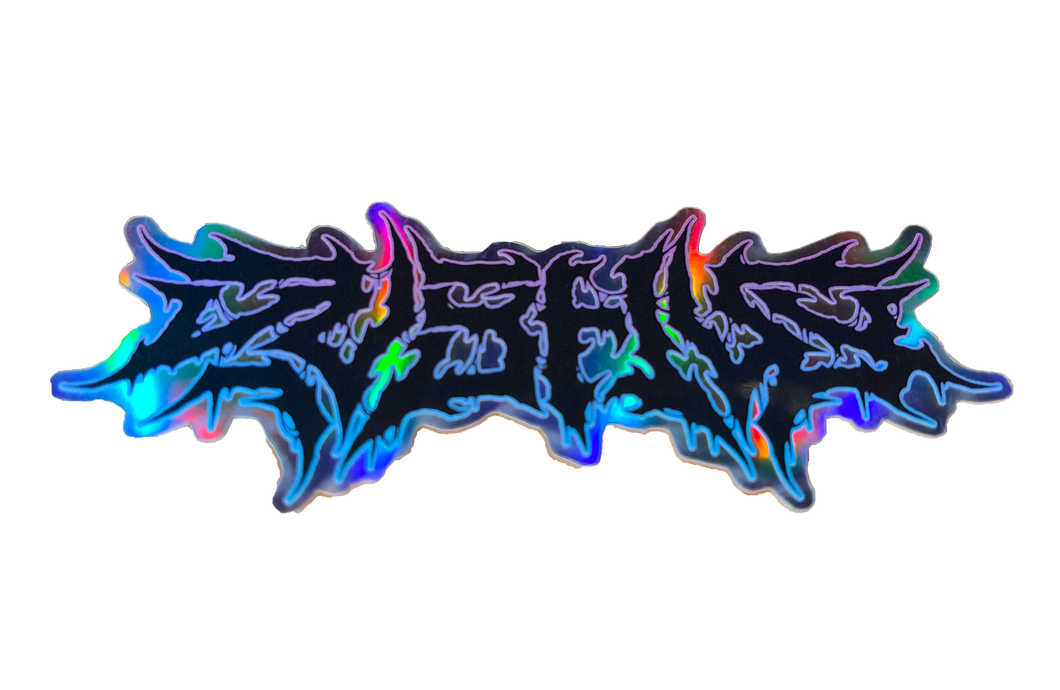 Brutal Sticker *HOLOGRAPHIC*