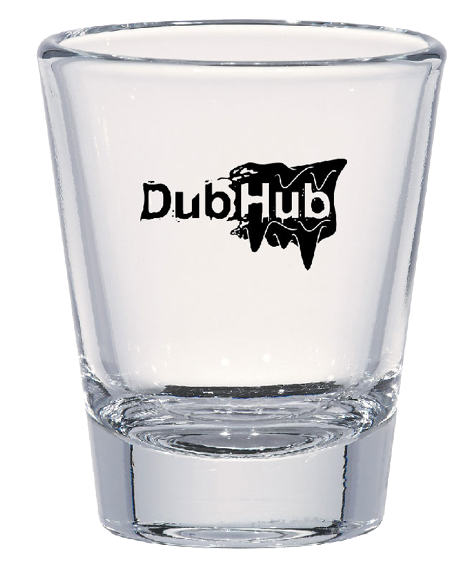 DubHub Shot Glass
