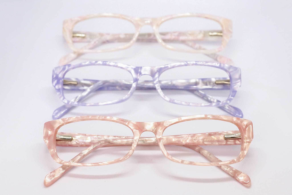 Mother of pearl designer glasses for girls