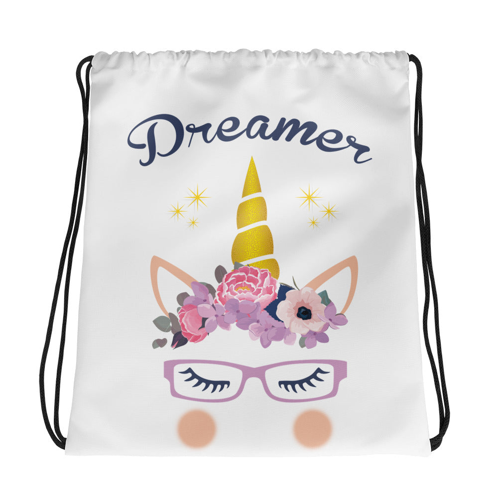 Dreamer - Unicorn drawstring bag - Fairy Specs
