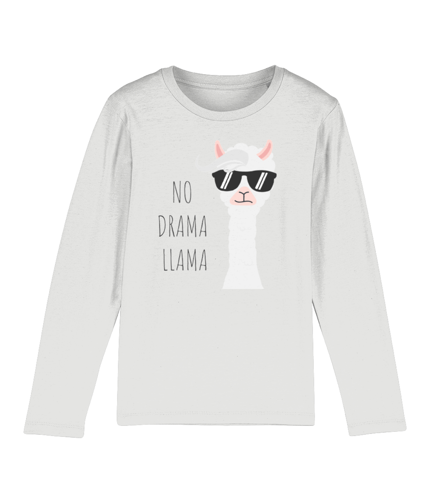 Kids' Long Sleeved Organic Cotton Top - No Drama Llama - Fairy Specs