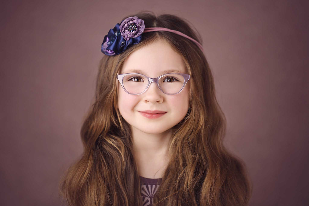 Purple Dazzle Frames - Fairy Specs