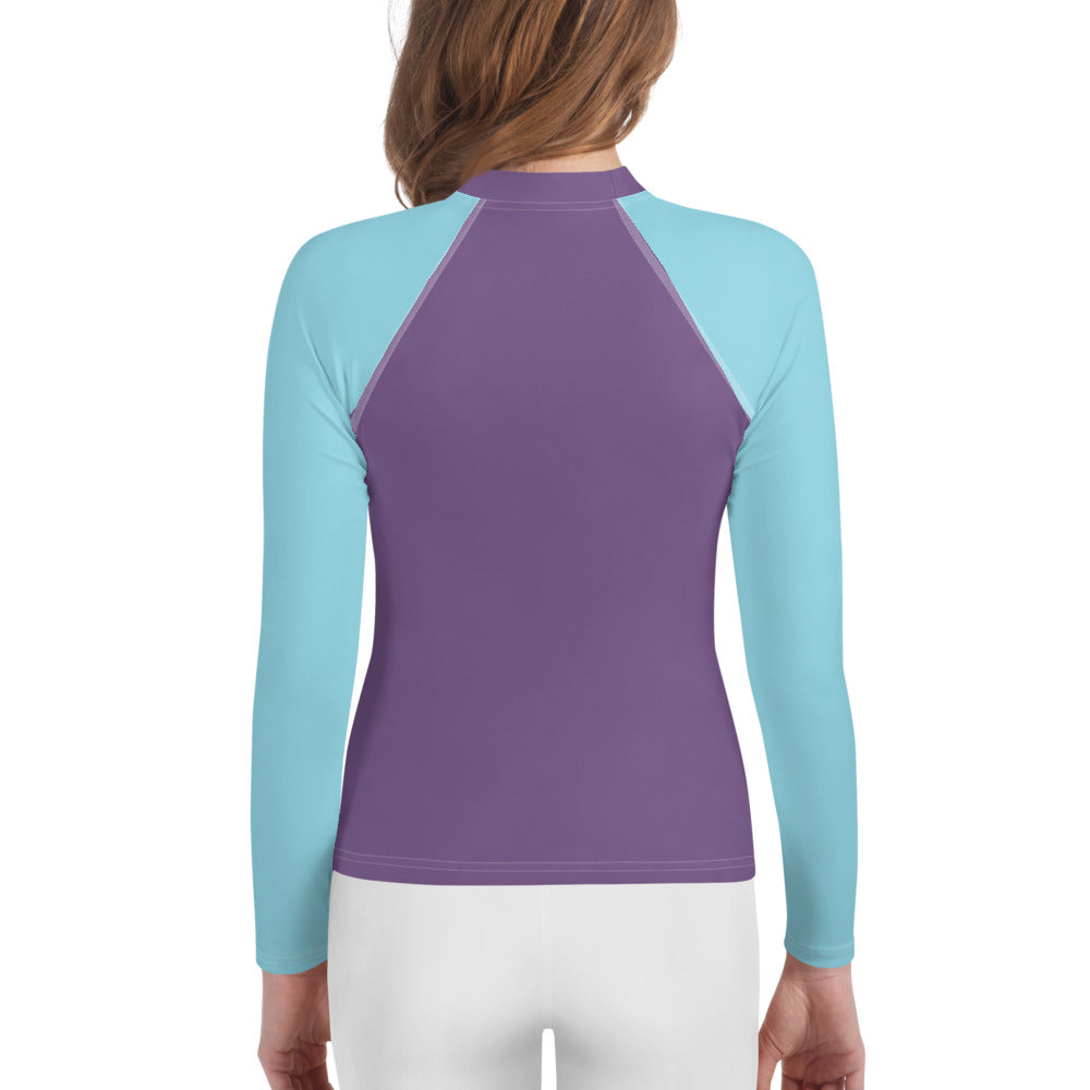 Youth Sun Safe UV Protection Rash Guard - Selfie Queen (8-20y) - Fairy Specs