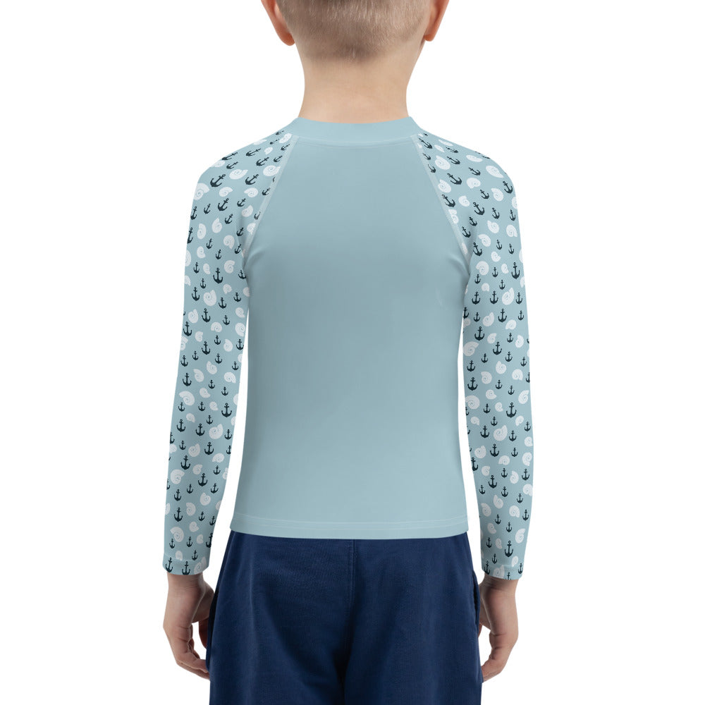 Boys Sun Safe UV Protection Rash Guard - Pirate (2-7y) - Fairy Specs