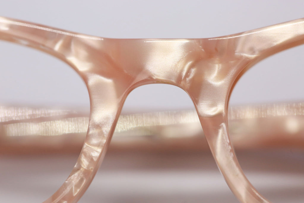 Beautiful mother of pearl glasses for girls