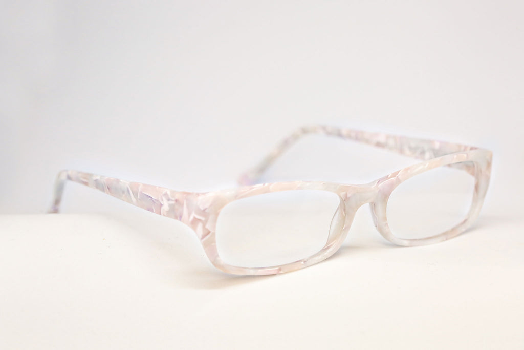 Fairy specs white communion glasses