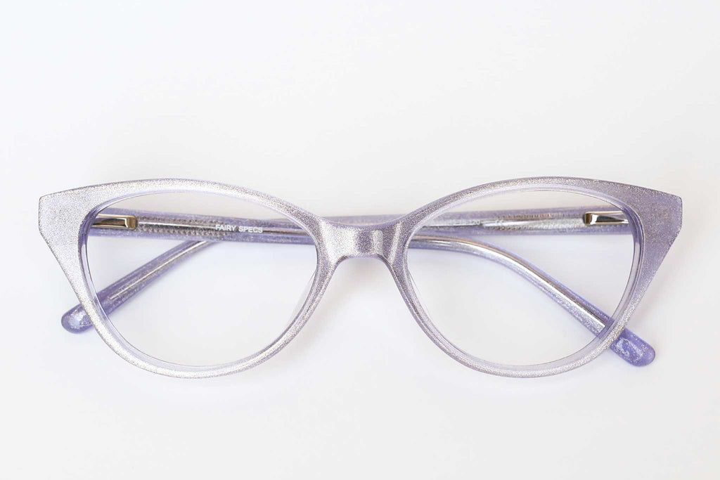 Fairy Specs purple dazzle children's glasses