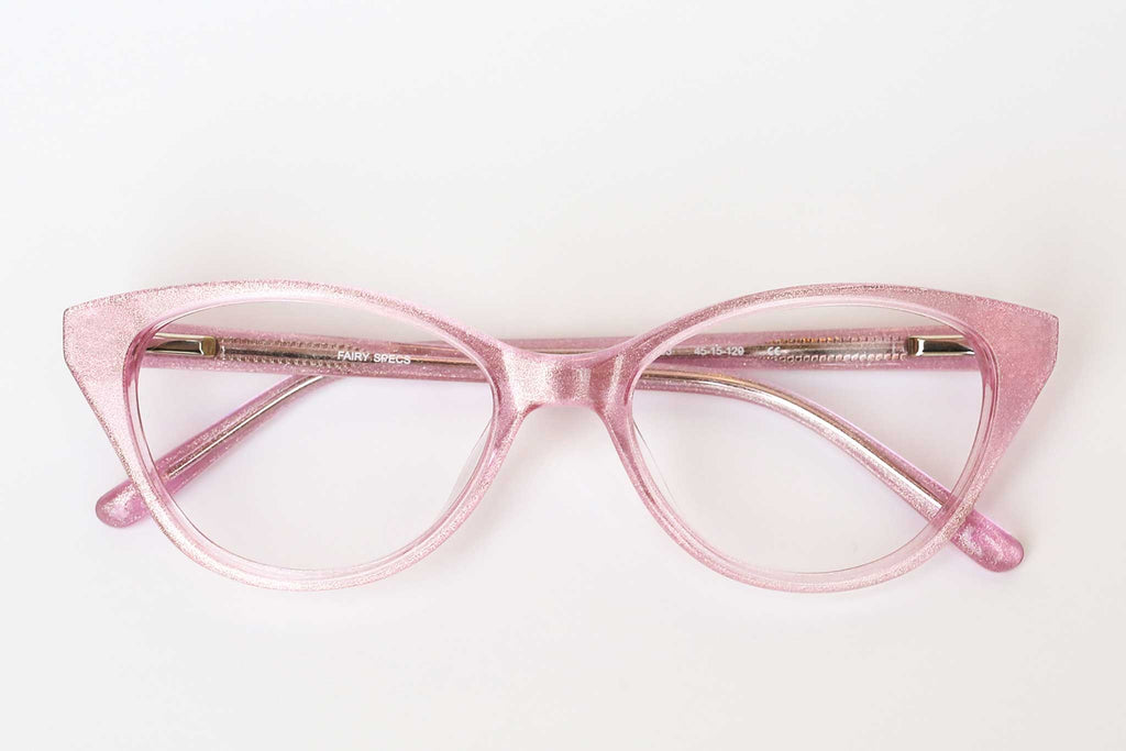 Fairy Specs rose shimmer children's glasses