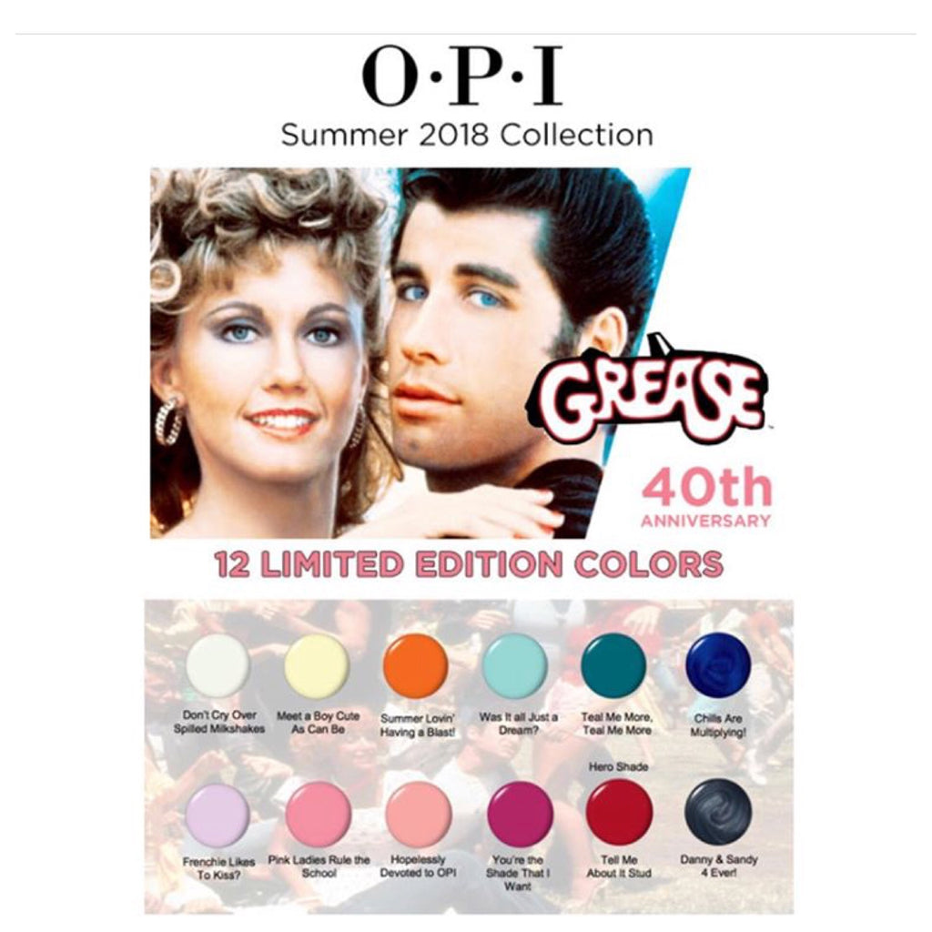 OPI GelColor - Grease Collection 2018