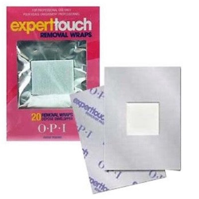 OPI Expert Touch - Removal Wraps (20pk)