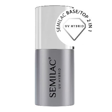 Semilac Top/Base 2 in 1 7ml