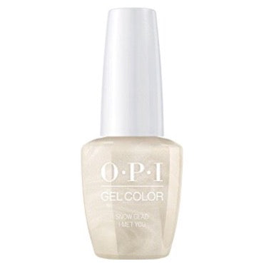 OPI GelColor - Snow Glad I Met You 15 ml