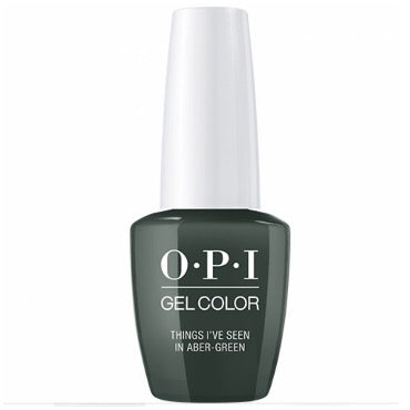 OPI GelColor - Things I've Seen In Aber-green