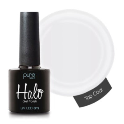 Halo Gel Polish 8ml Top Coat Wipe