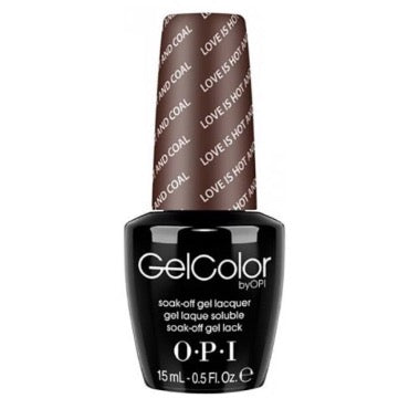 OPI GelColor - Love Is Hot And Coal 15 ml