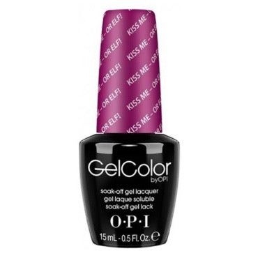 OPI GelColor - Kiss Me Or Elf 15 ml