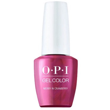 OPI GelColor - Merry in Cranberry (Shine Bright)
