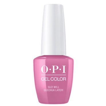 OPI GelColor - Suzi Will Quechua Later  15ml