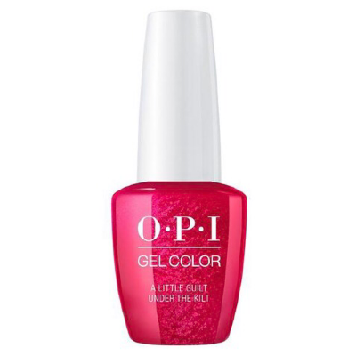 OPI GelColor - A Little Guilt Under The Kilt