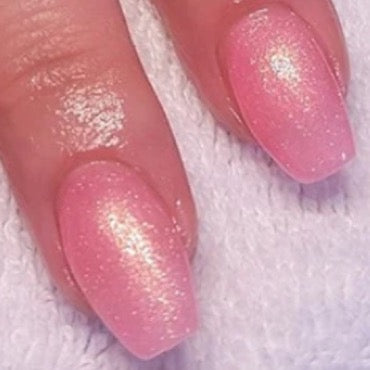 Halo Gel Polish 8ml - Pink Shimmer